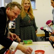 Karl McCartney joins young people to Discover Boultham Park