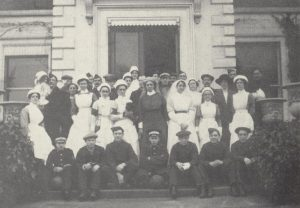 1915 WW1 Boultham Hall