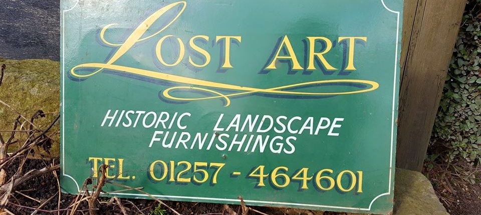 Visit to Lost Art workshops in Wigan